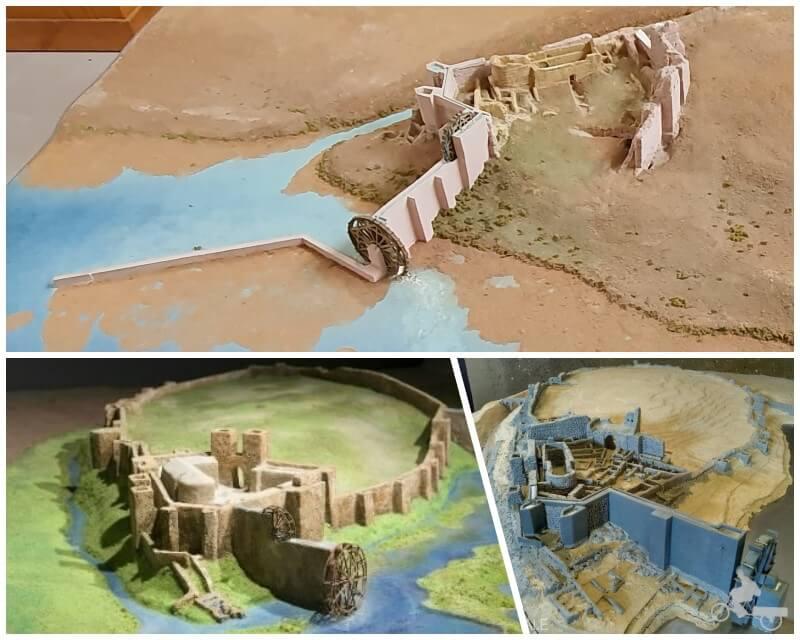 norias y corachas medievales