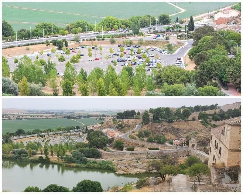 parking de azarquiel en Toledo capital