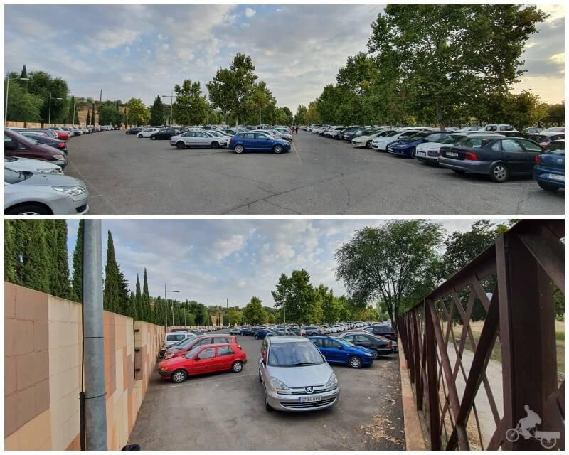aparcamiento Safont plazas