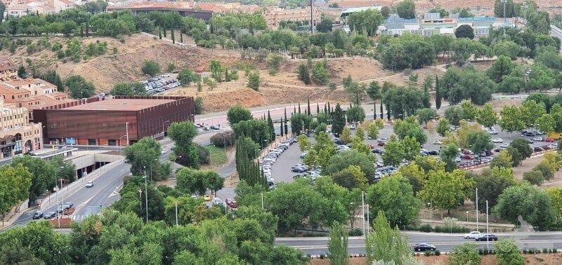 parking Safont situación localización