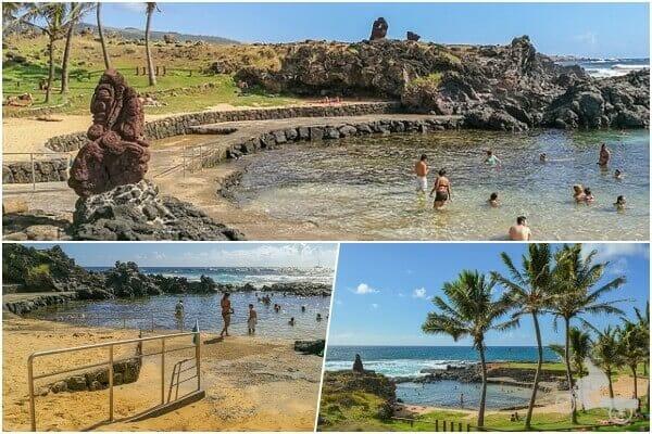playa Poko Poko - playas de isla de Pascua