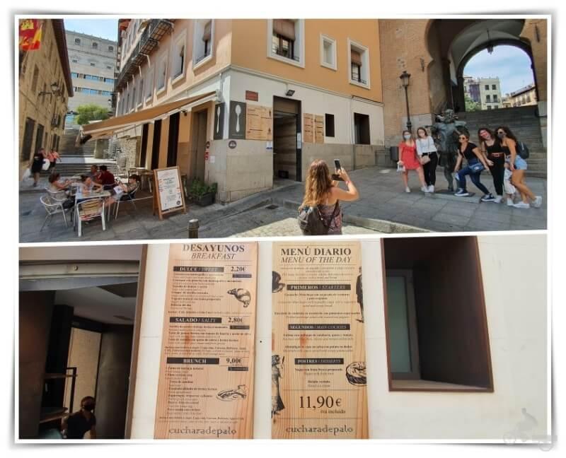 restaurante Cuchara palo Toledo