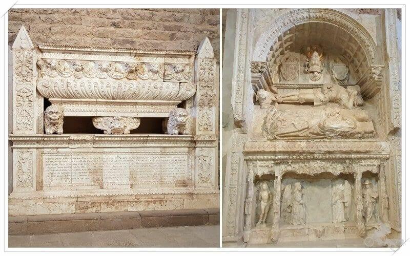 tumbas dinastía cardona