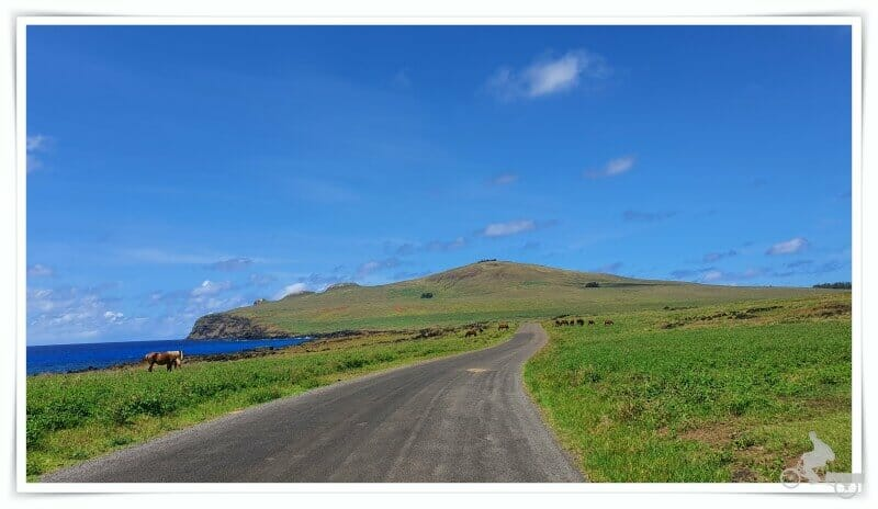 volcán poike - norte de isla de Pascua