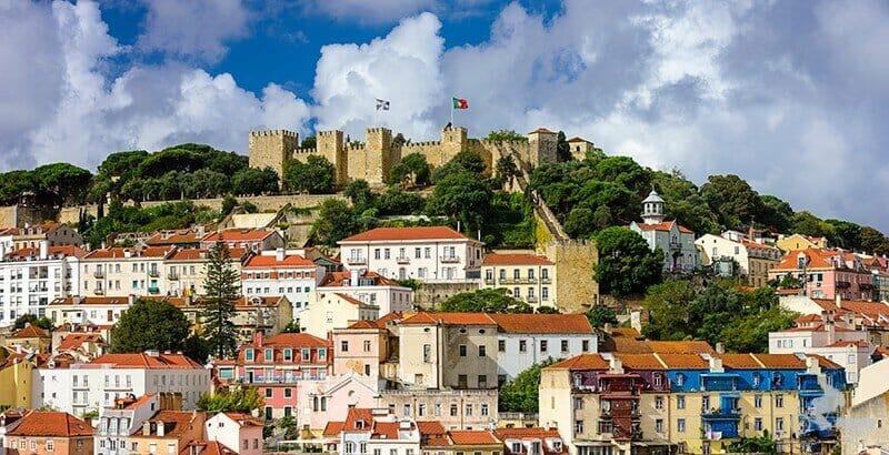 Castillo de san jorge - mejores free tours en Lisboa