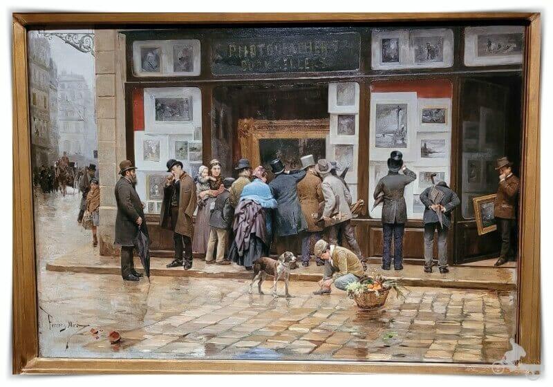 Exposición pública de un cuadro -  Mejores obras del MNAC