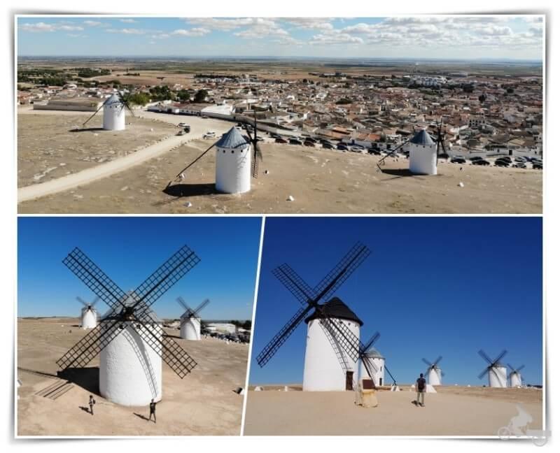 molinos de viento de campo de Criptana
