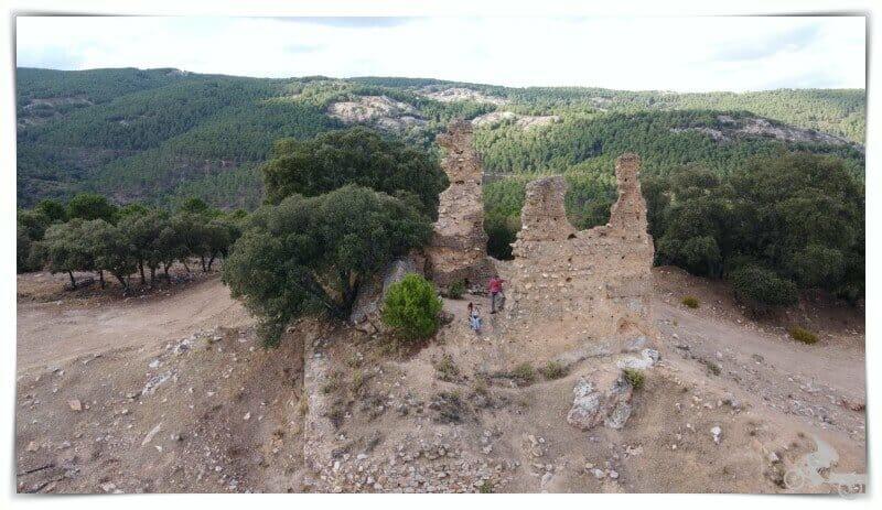 ruinas castillo de Castro Ferral