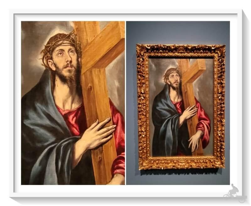 Cristo de la Luz de el Greco - Mejores obras del MNAC