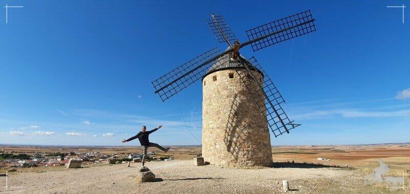 molinos de viento de Belmonte