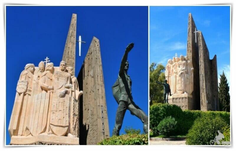 monumento de las navas de Tolosa en la Carolina