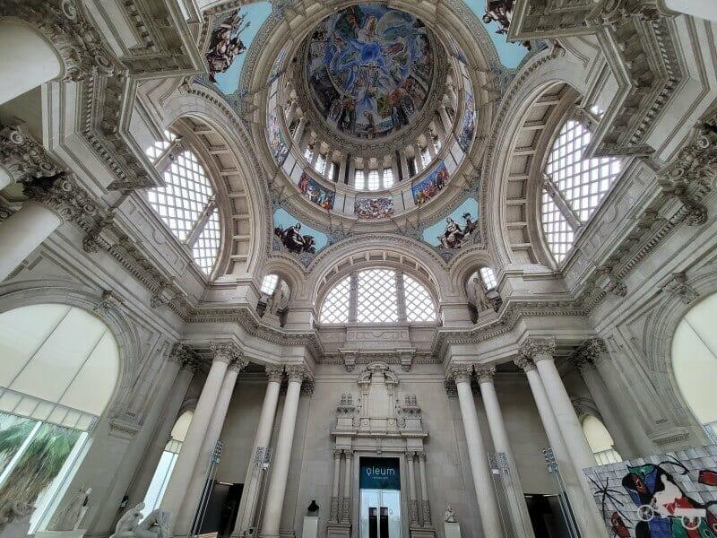 sala de la cúpula del Palau Nacional Mejores obras del MNAC