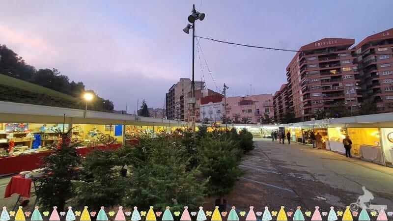 mercadillo de Navidad en Lleida