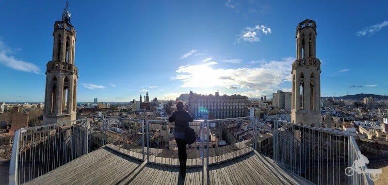 terrazas de la catedral del Mar
