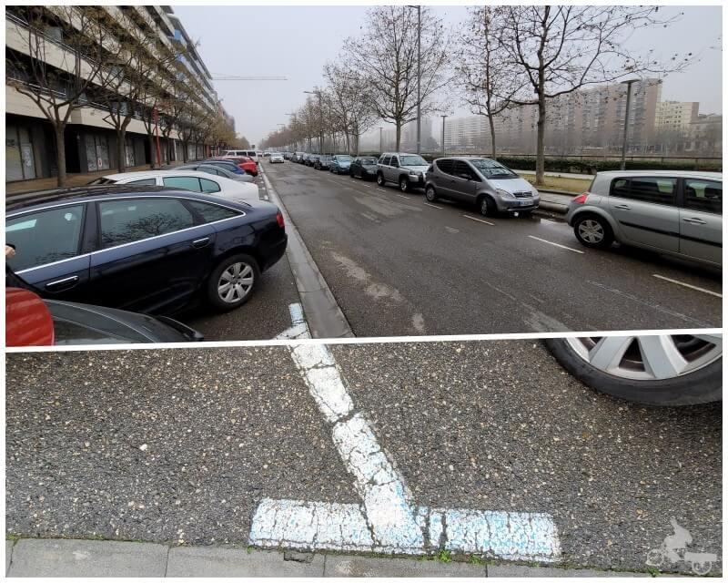 aparcar en la calle Jaume II - parkings lleida