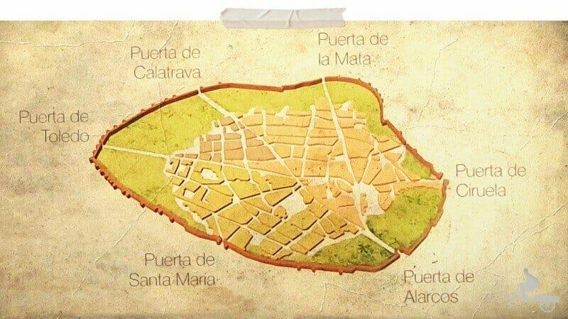 ciudad real medieval