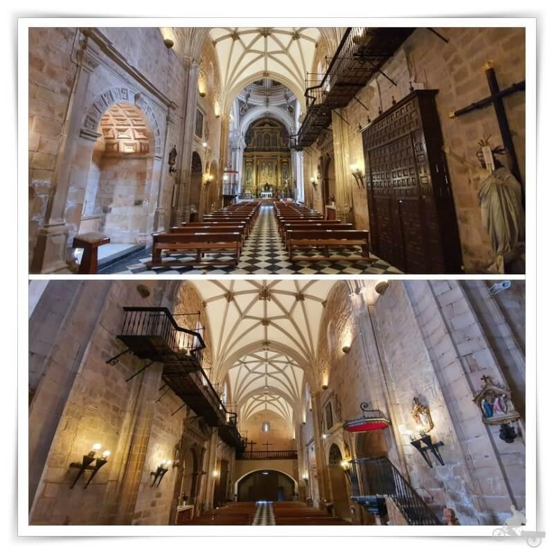 interior Iglesia de San Mateo - qué ver en Baños de la Encina