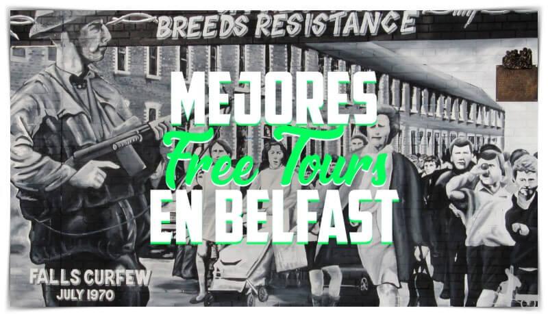 mejores free tours en Belfast