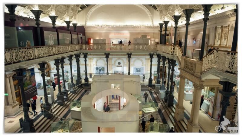 museo de arqueología de Irlanda en Dublín