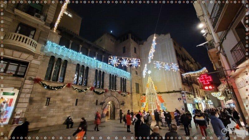 paeria Lleida en navidad