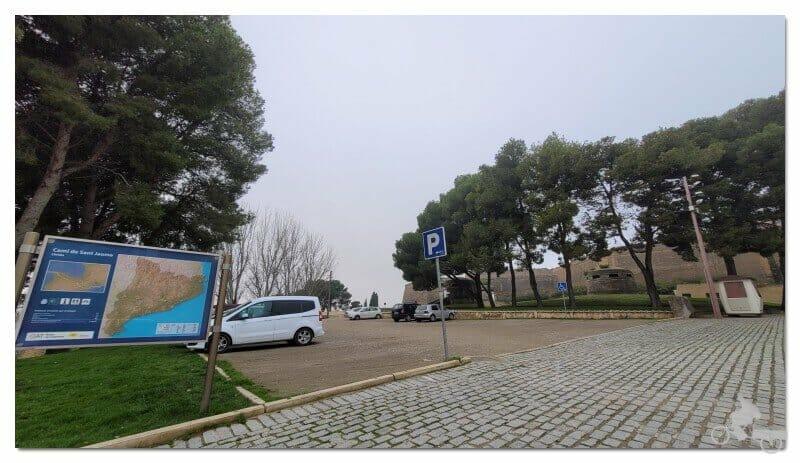 parking del castell de lleida