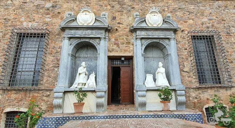 Estatuas sepulcrales de Álvaro de Bazán