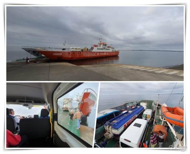 Ferry de Pargua a Chacao - Cómo ir a isla de Chiloé desde Puerto Montt