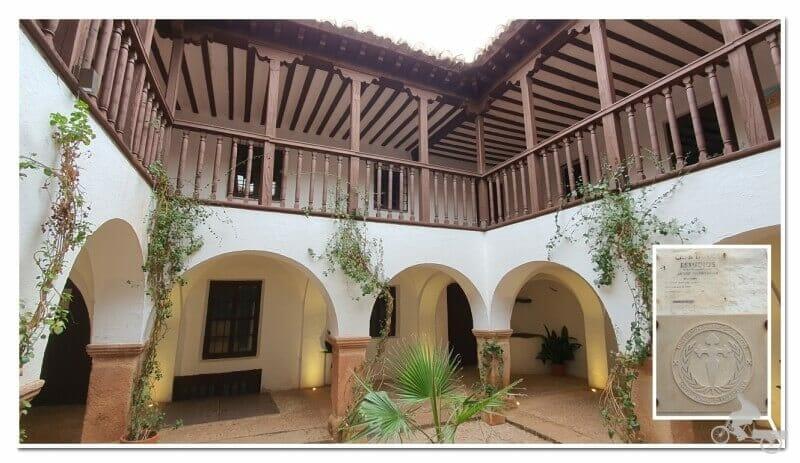 casa de los estudios de Villanueva de los Infantes