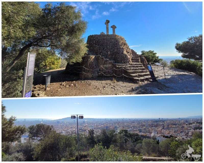 colina 3 cruces park guell