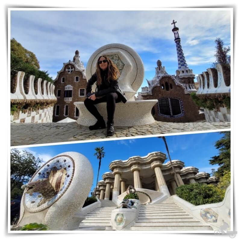 escalinata del dragon park guell