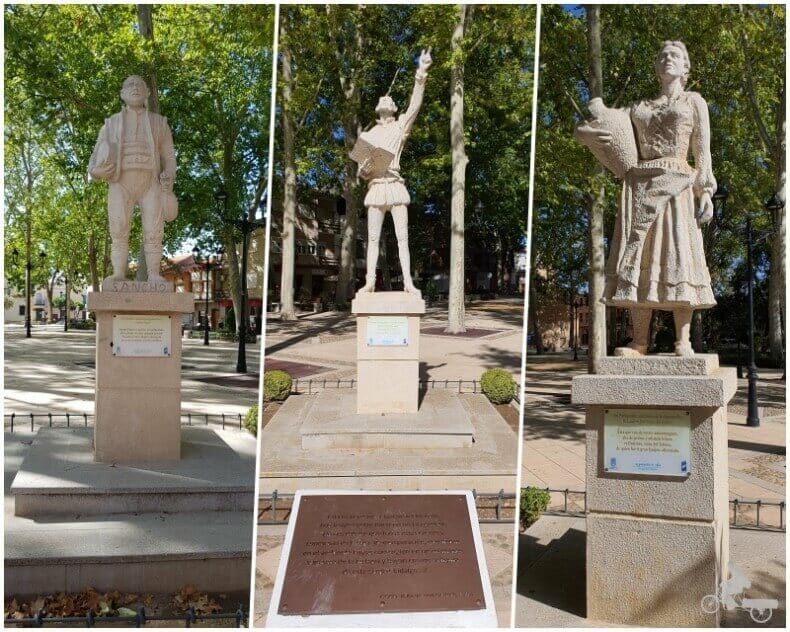 Esculturas de Glorieta