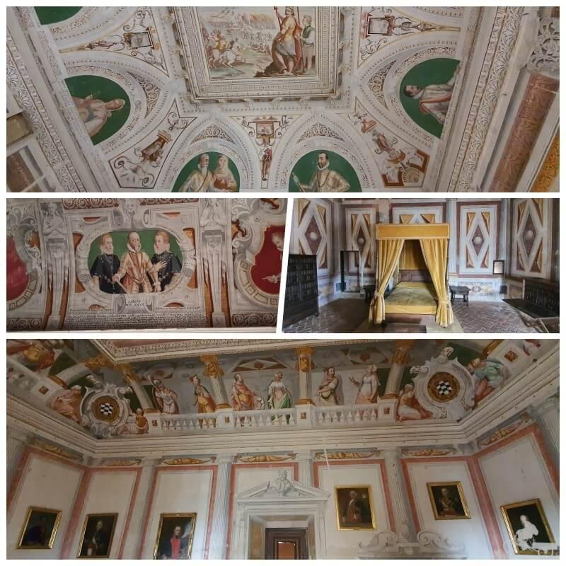 estancias del palacio del marqués de Santa Cruz