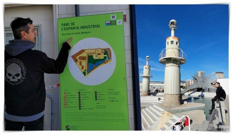 qué ver en el parque de la Espanya Industrial