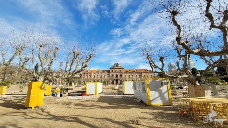 plaza armas parque ciutadella