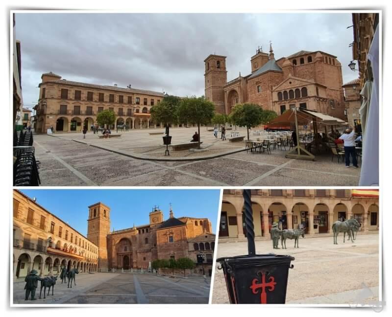 Plaza Mayor - qué ver en Villanueva de los Infantes