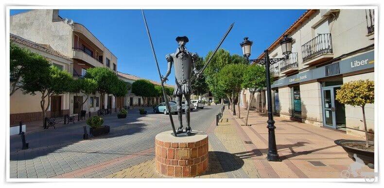 Don Quijote en Argamasilla de Alba