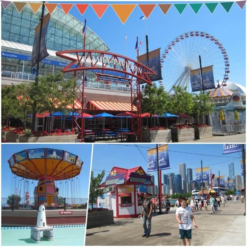 Ferris Wheel Navy Pier Chicago