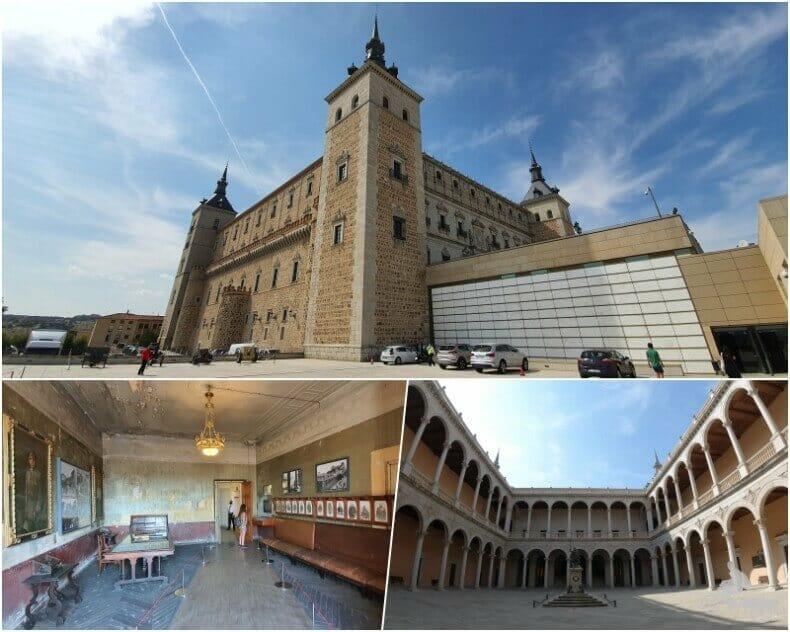 Alcázar - Toledo en 4 días