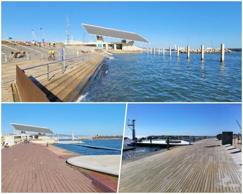 Baños del port Forum