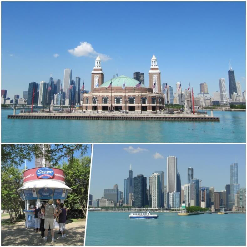 barco lago michigan - Chicago en 3 días