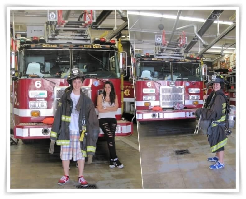 parque de bomberos 13 - Chicago en 3 días
