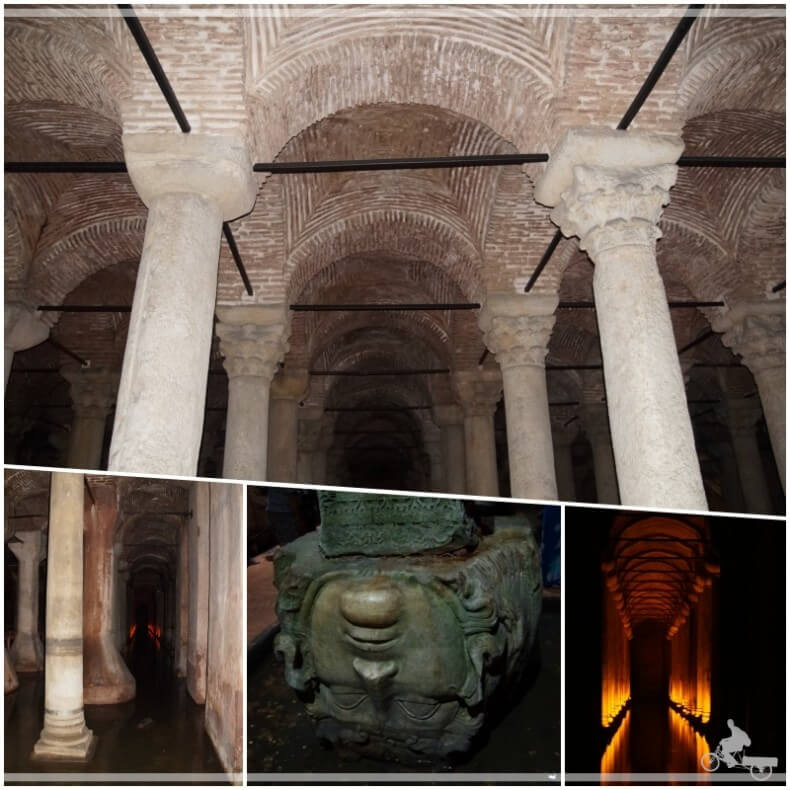 cisternas de Estambul
