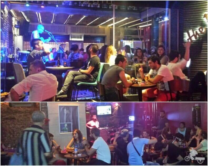 conciertos avenida Istiklal y plaza Taksim