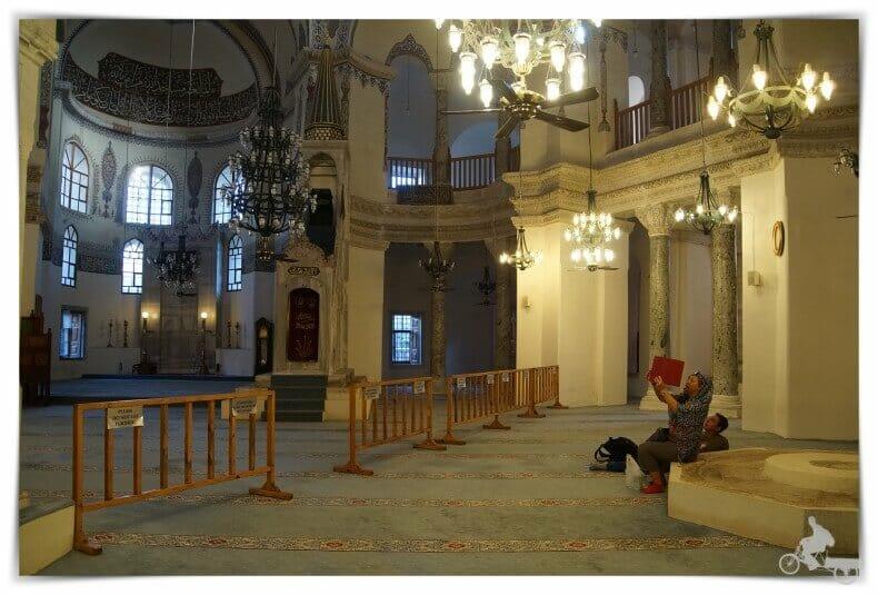 interior iglesia de San sergio y San Baco