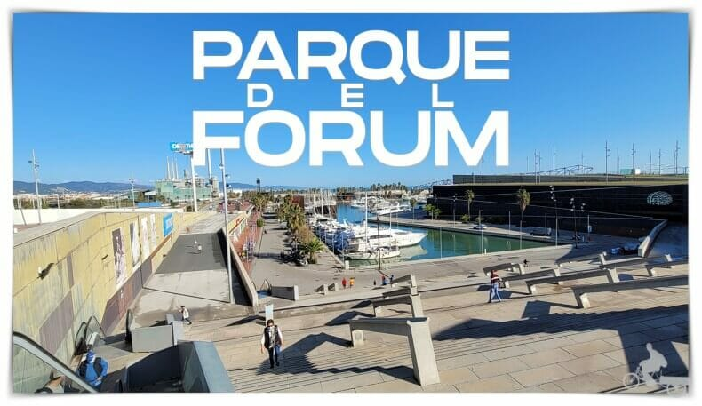 Parque del Fórum o parc del Fòrum Barcelona