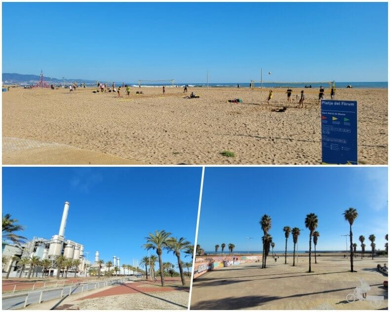 playa del Fórum
