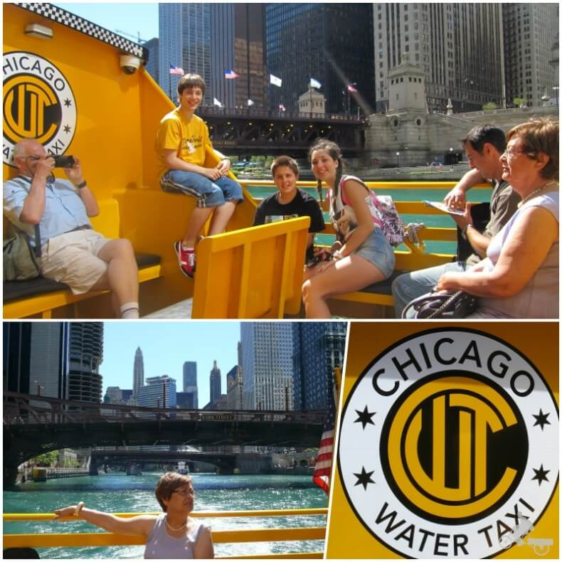 Water taxi Chicago