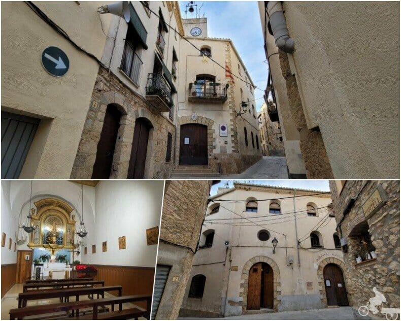 ayuntamiento y hospital de Tivissa