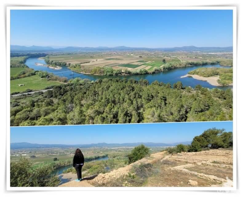Balcón sobre el río Ebro