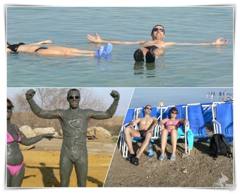 donde bañarse en el mar muerto